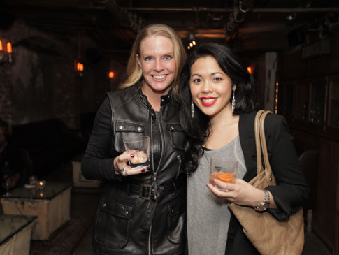 Susie Kimball and Siphanette Nhean