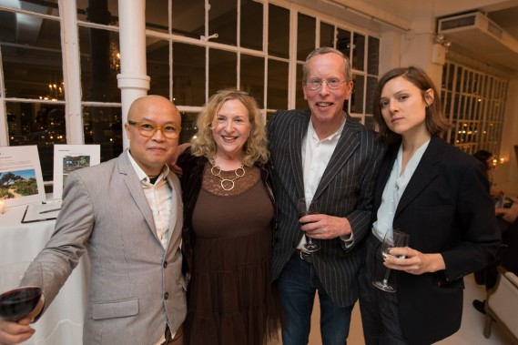 Phong Bui, Ruby Lerner, John Thomson and Nathlie Provosty